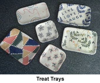 Clay Treat Trays