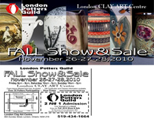 The London Potters Guild 28th Annual Fall Show and Sale