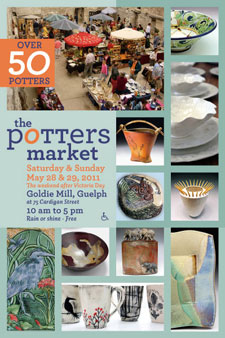The Potters Market - Guelph, Ontario - Canadian Pottery